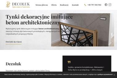 Decoluk Łukasz Kunina - Firma remontowa Dąbrowa Górnicza