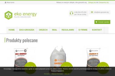 B&E energy - Skład opału Zduny