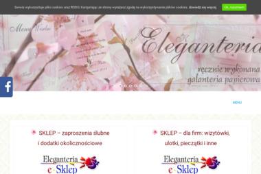 Eleganteria s.c. A. Margraf - Skibniewska P. Skibniewski - Usługi Poligraficzne Poznań