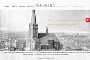 Eureka - Finanse Sp. z o.o. - Kredyt hipoteczny Leszno