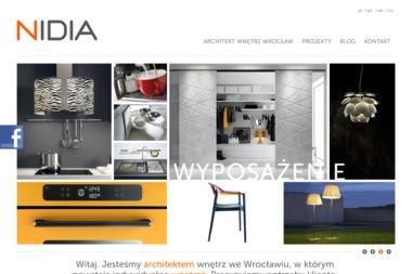 NIDIA Studio Aranżacja i Wyposażenie Wnętrz - Projektowanie wnętrz Wrocław