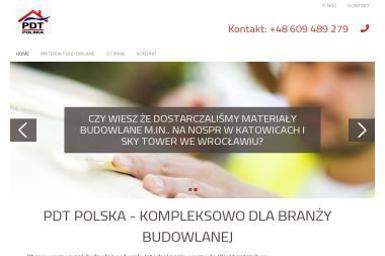 PDT Polska Sp.zo.o. - Wełna mineralna Przeżmierowo
