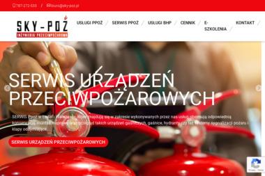 Sky-Poż Robert Grabowicz Instrukcje ppoż, szkolenia, ewakuacja, projektowanie - BHP, ppoż, bezpieczeństwo Warszawa