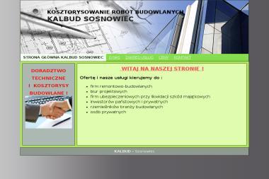 Kalbud - Rzeczoznawca budowlany Sosnowiec