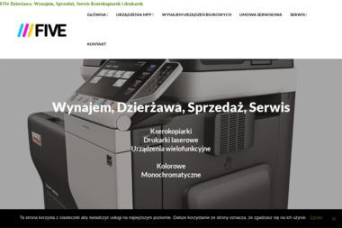 Kserokopiarki FIVE - Kserokopiarki A4 nowe Starogard Gdański