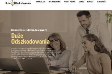 Duże Odszkodowania Sp. z o.o. - Radca prawny Warszawa