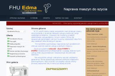 Firma Usługowo Handlowa EDMA Edward Lewek - Kserokopiarki Gorlice