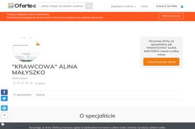 """""""KRAWCOWA"""" ALINA MAŁYSZKO - Rolety Warszawa"""