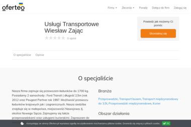 Usługi Transportowe Wiesław Zając - Przeprowadzki Nawojowa