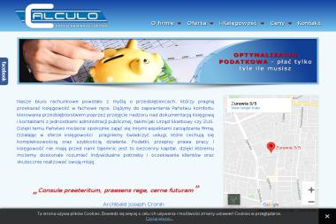 Kancelaria Rachunkowa CALCULO Sp. z o.o. - Doradca finansowy Łódź