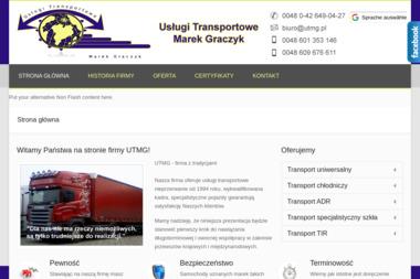 Uslugi Tranportowe Marek Graczyk - Transport międzynarodowy Łęczyca