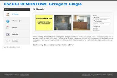 Usługi Remontowe Grzegorz Glagla - Glazurnik Jemielnica