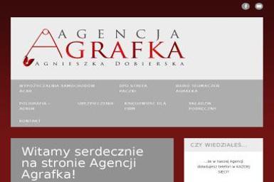 Agencja Agrafka - Papier firmowy Czerwonak