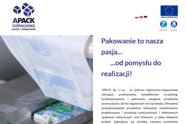 APACK SP.Z O.O. - Wykonawcy dla firmy i biura Oborniki