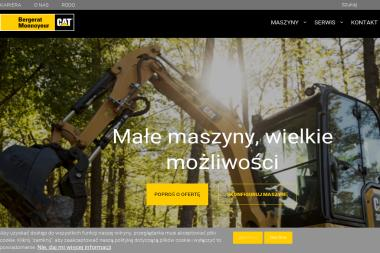 Bergerat Monnoyeur Sp. z o.o. - Minikoparki używane Łomianki