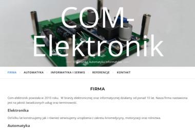 Com-Elektronik - Instalacja, konfiguracja komputerów i sieci Wrocław