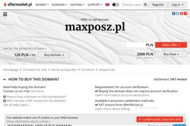 P.P.H.U MAXPOSZ - Meble Małkinia