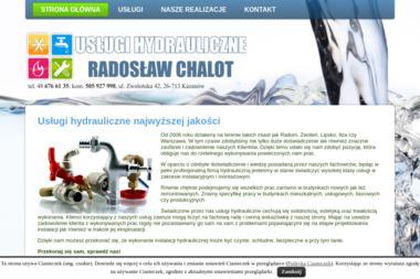 Usługi hydrauliczne Radosław Chalot - Serwis Systemów Grzewczych Kazanów
