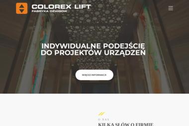 Colorex lift sp. z o.o. - Windy i dźwigi Kraków