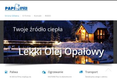 F.H.U. PAPI-SERVICE SP.J. - Dostawa Oleju Opałowego Kraków