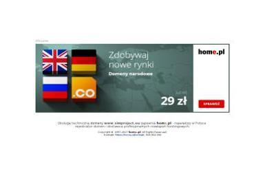 Simproject Piotr Witak - Reklama internetowa Ożarów Mazowiecki