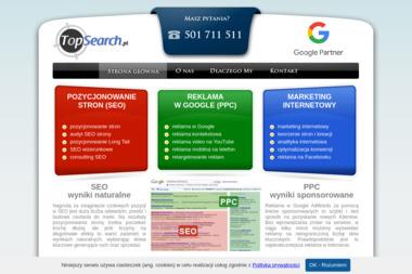 TopSearch - Pozycjonowanie w Google Lublin