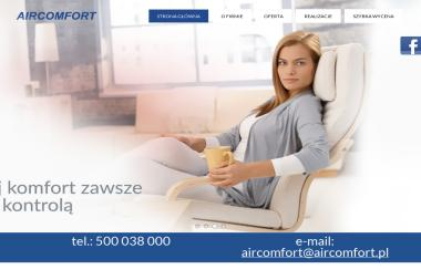 Aircomfort - Urządzenia, materiały instalacyjne Gdynia