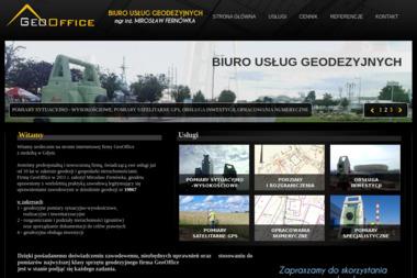 GeoOffice. Biuro Usług Geodezyjnych mgr inż. Mirosław Fernówka - Usługi Geodezyjne Gdynia