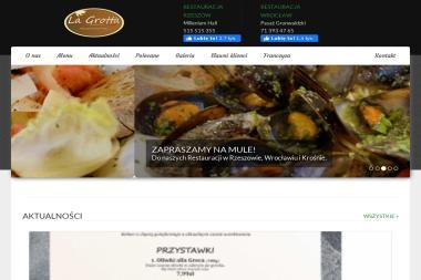 Restauracje Włoskie Pizza e Pasta La Grotta Rzeszów, Wrocław - Gastronomia Rzeszów