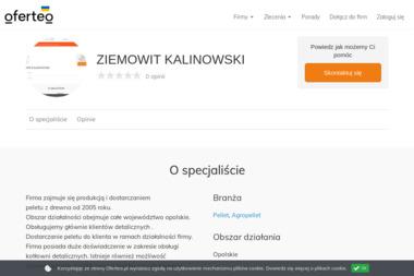 ZIEMOWIT KALINOWSKI - Pellet Kup