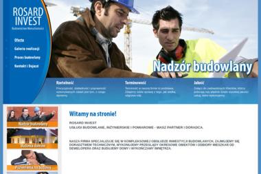 ROSARD INVEST Dariusz Rosnowski - Kierownik Budowy Kraków