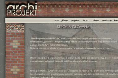 Archiprojekt Pracownia Architektury - Nadzorowanie Budowy Krzanowice