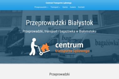 Centrum transportu ladowego - Przeprowadzki Białystok