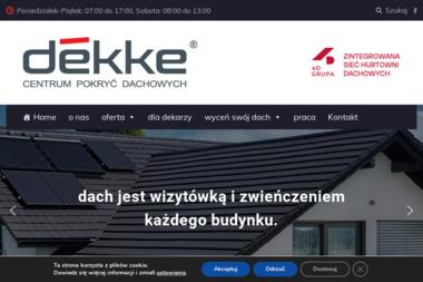 DEKKE Spółka z ograniczoną odpowiedzialnością S.K.A. - Pokrycia dachowe Kraków