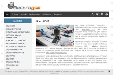 Electrogsm - Serwis GSM Radom