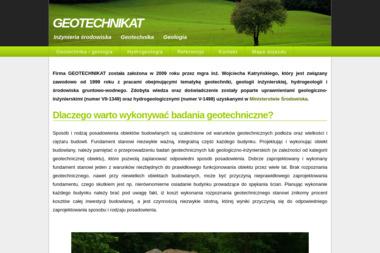 GEOTECHNIKAT - Inżynieria środowiska, geotechnika, geologia. - Opinia Geotechniczna Piaseczno