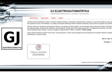 GJ ELEKTROAUTOMATYKA - Oświetlenie Elewacji Łubnice