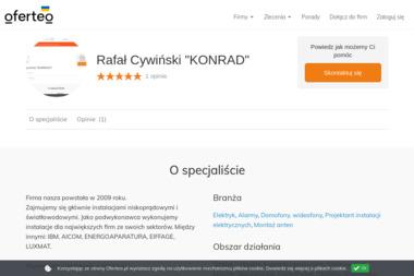 """Rafał Cywiński """"KONRAD"""" - Instalacje Ostróda"""