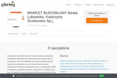 MARKET BUDOWLANY Beata Lubowska, Katarzyna Ścisłowska Sp.j. - Prefabrykaty Betonowe Grójec