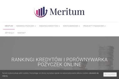Placówka Meritum Bank - Finanse i Inwestycje - Kredyt gotówkowy Sosnowiec