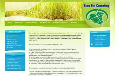 Euro-Eko-Consalting - Ochrona środowiska Bydgoszcz