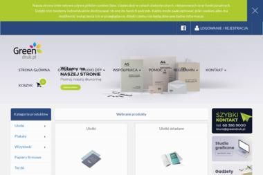 Drukarnia Internetowa - GreenDruk.pl - Naklejki Zbąszyń