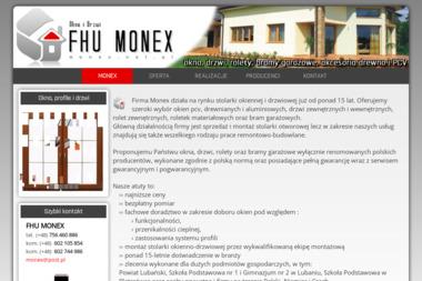 F.H.U. Monex - Okna aluminiowe Lubań