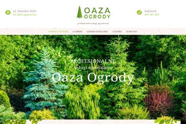 Oaza Ogrody - Budowa Ogrodu Zimowego Łaziska