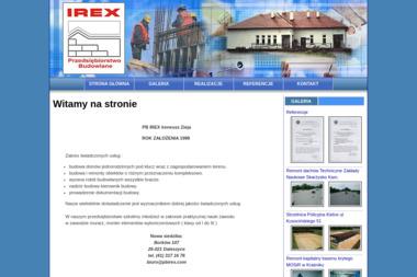 Przedsiębiorstwo Budowlane Irex - Budowa Domów Jednorodzinnych Kielce