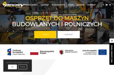 PROXY Trade Sp.z o.o. - Minikoparki nowe Toruń