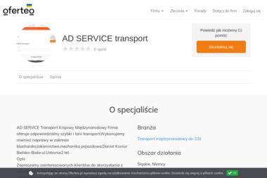 AD SERVICE transport - Firma transportowa Bielsko-Biała