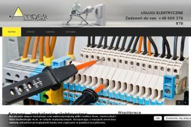 """Usługi elektryczne """"AMPER"""" - Oświetlenie Domu Pabianice"""