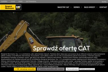 Bergerat Monnoyeur Sp. z o.o. - Krótkoterminowy wynajem maszyn budowlanych Łomianki