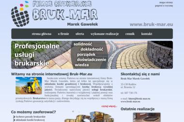 BRUK-MAR - Kamieniarstwo Radłów